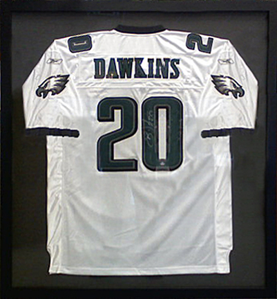 Dawkins Eagles Jersey Shadowbox